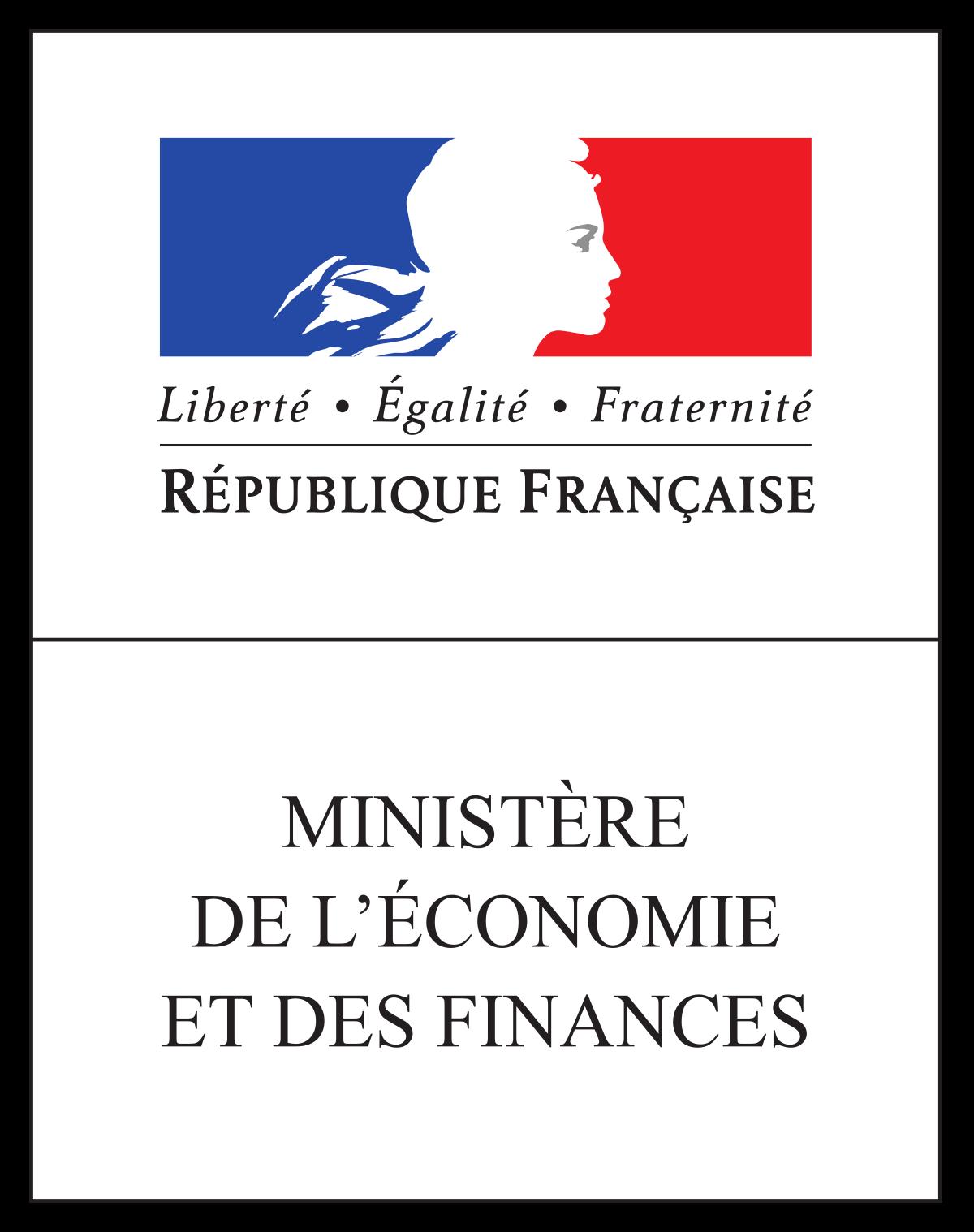 Logo Ministère français Economie et Finances