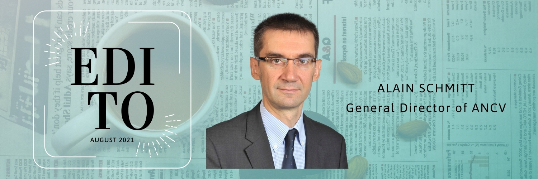 Edito by Alain Schmitt, General Director of ANCV